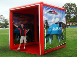 Promotional Marquee - Event Cube 2 x 2 meters